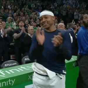 It's all love from the Boston Celtics in their tribute to Isaiah Thomas 👏: Putnam  nityX It's all love from the Boston Celtics in their tribute to Isaiah Thomas 👏