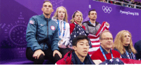 chatnoirs-baton: Mirai Nagasu is the first USA female figure skater to land the triple axel at Winter Olympics @ Pyeongchang 2018 (and Team USA being the cutest cheering section ever): PyeongChang 2018 chatnoirs-baton: Mirai Nagasu is the first USA female figure skater to land the triple axel at Winter Olympics @ Pyeongchang 2018 (and Team USA being the cutest cheering section ever)
