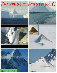 Memes, Free, and Http: Pyramids in Antarctica?!  @censored.truth I talk about these on my recent interview with @therealseanstone Rp @hybrid_scientist repost @censored.truth Pyramids in antarctica?! in antarctica there are few pyramids that it dont look natural,looks like thett were built by someone. Watch my interview for free here: http:-gaia.com-4bidden 4biddenknowledge