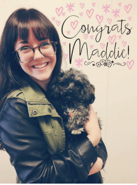 CONGRATS MADDIE! This cutie pie went home with her new mom today 💕 Maddie, now Lucy, is going to be sooo spoiled for the rest of her life. Instead of spending the night in a kennel, this girl will be spending the first of many nights in a warm, soft bed. Thank you so much to her new mom for adopting from Noah's Ark: Q,  米  米 CONGRATS MADDIE! This cutie pie went home with her new mom today 💕 Maddie, now Lucy, is going to be sooo spoiled for the rest of her life. Instead of spending the night in a kennel, this girl will be spending the first of many nights in a warm, soft bed. Thank you so much to her new mom for adopting from Noah's Ark