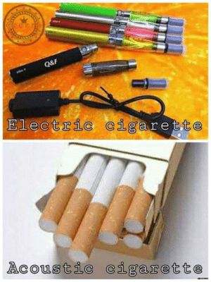 Obviously: Q&F  Electric cigarette  Acoustic cigarette Obviously