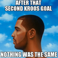 NWTS: AFTER THAT SECOND KROOS GOAL NOTHING WAS THE SAME NWTS