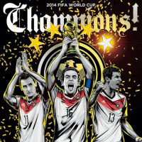 Congrats Germany!!! WORLD CHAMPIONS FOR THE FOURTH TIME !ARGvsGER 1-0 🇩🇪🇩🇪🇩🇪: 2014 FIFA WORLD CUP  ル  る1  晨 Congrats Germany!!! WORLD CHAMPIONS FOR THE FOURTH TIME !ARGvsGER 1-0 🇩🇪🇩🇪🇩🇪