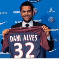 @cbf_futebol right-back @danialves23 has joined six-time French @ligue1 champions @psg from @juventus on a two-year contract. PSG Paris DaniAlves: QNB  Emirates  En  DANI ALVES  ND @cbf_futebol right-back @danialves23 has joined six-time French @ligue1 champions @psg from @juventus on a two-year contract. PSG Paris DaniAlves