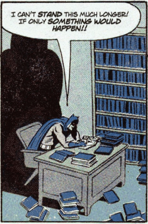 Quarantine and Social Distancing has Batman Feeling Down: Quarantine and Social Distancing has Batman Feeling Down
