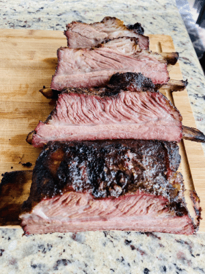 Quarantine beef ribs turned out well :): Quarantine beef ribs turned out well :)