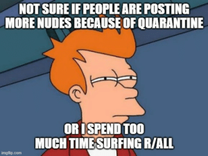 Quarantine has me thinking the real questions.: Quarantine has me thinking the real questions.