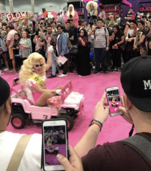 Crazy, Driving, and Drunk: QUE drinkyourjuiceshelby: theshitneyspears:  DragCon attendees be careful, this crazy woman just drove her jeep through the building and I think she's drunk driving - stay safe xxxx  Tyra Sanchez warned us