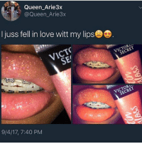 Hoes, Love, and Memes: Queen Arie3x  @Queen_Arie3x  I juss fell in love witt my lips  9/4/17, 7:40 PM Hoes out here using that scream extracter machine from monster inc damn (@savageebruh)