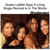 "Queen Latifah, Memes, and Netflix: Queen Latifah Says A Living  Single Revivial Is In The Works Queen Latifah Says A Living Single Revivial Is In The Works -blogged by @BenitaShae ⠀⠀⠀⠀⠀⠀⠀⠀⠀ ⠀⠀⠀⠀⠀⠀⠀⠀⠀ LivingSingle might be getting a reboot, QueenLatifah confirmed on Bravo's Watch What Happens Live. ⠀⠀⠀⠀⠀⠀⠀⠀⠀ ⠀⠀⠀⠀⠀⠀⠀⠀⠀ When a phone-in caller asked about a Living Single comeback, Latifah responded, ""Funny you should ask that, We're actually working on it. It's not there yet but hopefully we can get it happening."" ⠀⠀⠀⠀⠀⠀⠀⠀⠀ ⠀⠀⠀⠀⠀⠀⠀⠀⠀ Whether the show could end up on Netflix is still unknown. Latifah says the project is still in its early days. ""It depends,"" she said about where the reboot could land. ""We're still figuring that all out."" ⠀⠀⠀⠀⠀⠀⠀⠀⠀ ⠀⠀⠀⠀⠀⠀⠀⠀⠀ Living Single is one of the most popular African American sitcoms. The show aired on Fox from 1993-98, and followed six friends living in a Brooklyn brownstone. In addition to Latifah, the series starred Kim Coles, Erika Alexander, T.C. Carson, John Henton, Kim Fields and Mel Jackson. ⠀⠀⠀⠀⠀⠀⠀⠀⠀ ⠀⠀⠀⠀⠀⠀⠀⠀⠀ Are you here for a Living Single reboot?"