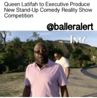"Queen Latifah, Memes, and 🤖: Queen Latifah to Executive Produce  New Stand-Up Comedy Reality Show  Competition  @balleralert  HO  LLY00 Queen Latifah to Executive Produce New Stand-Up Comedy Reality Show Competition - blogged by @MsJennyb ⠀⠀⠀⠀⠀⠀⠀⠀⠀ ⠀⠀⠀⠀⠀⠀⠀⠀⠀ QueenLatifah is a woman of many talents, from the music industry to the big screen and behind the scenes, it's safe to say she has made her mark in Hollywood history. Now, it appears she is looking to expand her legacy and work history by jumping into a new project. ⠀⠀⠀⠀⠀⠀⠀⠀⠀ ⠀⠀⠀⠀⠀⠀⠀⠀⠀ According to TMZ, the new project titled, ""Knock Knock,"" will be executive produced by the Queen and OtisBest. Sources say the show, which is a stand-up comedy reality show competition, will chronicle the daily routine and struggles of four comedians who are trying to make it in Hollywood. ⠀⠀⠀⠀⠀⠀⠀⠀⠀ ⠀⠀⠀⠀⠀⠀⠀⠀⠀ While Queen Latifah will remain behind the scenes for this project, they've summoned DonnellRawlings to host. Since the show is sort of a competition, the winner will secure the opening slot for Rawlings' show and will be given the opportunity to host their own special."