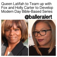"Queen Latifah, Memes, and Rap: Queen Latifah to Team up with  Fox and Holly Carter to Develop  Modern Day Bible-Based Series  @balleralert Queen Latifah to Team up with Fox and Holly Carter to Develop Modern Day Bible-Based Series - blogged by @MsJennyb ⠀⠀⠀⠀⠀⠀⠀ ⠀⠀⠀⠀⠀⠀⠀ QueenLatifah has had major success behind the scenes, with her work on Single Ladies and The Rap Game. She has also been a major force in front of the camera, as well. ⠀⠀⠀⠀⠀⠀⠀ ⠀⠀⠀⠀⠀⠀⠀ Now, the star of Fox's new series ""Star,"" is using her experience and expertise to develop a Bible-based series, alongside Fox and Flavor Unit Television and Relevé Entertainment. ⠀⠀⠀⠀⠀⠀⠀ ⠀⠀⠀⠀⠀⠀⠀ Although the new series, titled ""The Scroll"" is in early development with the network, details have been provided by Deadline. ⠀⠀⠀⠀⠀⠀⠀ ⠀⠀⠀⠀⠀⠀⠀ The series will be written by MichaelElliot, the man behind BrownSugar and Just Wright. It will be based on an idea brought about by television producer HollyCarter, the founder of Relevé Entertainment, a production company for faith-based material. The series will modernize some of the Bible's most popular stories. All involved parties and production companies will be named as executive producers. ⠀⠀⠀⠀⠀⠀⠀ ⠀⠀⠀⠀⠀⠀⠀ According to Deadline, the pilot will be targeted for the next development season. ⠀⠀⠀⠀⠀⠀⠀ ⠀⠀⠀⠀⠀⠀⠀ What are your thoughts?"
