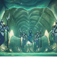 Memes, Queen, and 🤖: Queen Luxia welcomes Lance and Hunk to her underwater domain. AliensofVoltron VoltronMoments