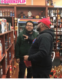 QueenzFlip went to the liquor store to support Camron's tequila but the employee was hating! 🥃😩😂 @queenzflip @mr_camron @worldstar WSHH: QUEENZFLIP QueenzFlip went to the liquor store to support Camron's tequila but the employee was hating! 🥃😩😂 @queenzflip @mr_camron @worldstar WSHH