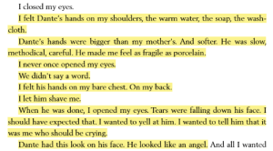 queerbookmemes:  do you ever read a scene so tender that you just cry: queerbookmemes:  do you ever read a scene so tender that you just cry