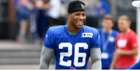 """Advice, College, and Memes: Quest .@TG3II's advice to @saquon?  """"I told him the NFL is probably going to be a lot easier than college."""" https://t.co/2mBoglruQA (via @thecheckdown) https://t.co/Nn8RVpfFoE"""