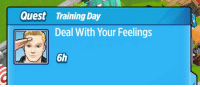 me irl: Quest Training Day  Deal With Your Feelings  6h me irl