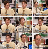 Easily one of THE best scenes of the entire series of 'The Office': Question  False  Black bear  Bears  Beets  Battlestar Galactica  What kind of bear is best?  That sa ridiculous question  Well, that's debatable  There are basically  Fact bears eat beets  Schools of thought  What are you doing?  What is going on? Easily one of THE best scenes of the entire series of 'The Office'