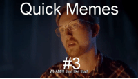 "Dank, Meme, and Memes: Quick Memes  #3  WHAM!!! Just like that! <p>Quick Memes #3 TheLegend27 but every &ldquo;TheLegend27&rdquo; is replaced with the succ via /r/dank_meme <a href=""http://ift.tt/2i1YjTd"">http://ift.tt/2i1YjTd</a></p>"