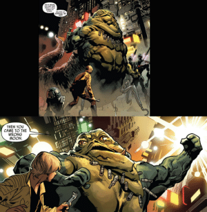 quinnred:  Did you know that in the Star Wars extended universe comics theres a Hutt thats SHREDDED?: quinnred:  Did you know that in the Star Wars extended universe comics theres a Hutt thats SHREDDED?