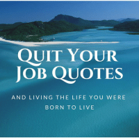 Quit Your Job Quotes And Living The Life You Were Born To Live These