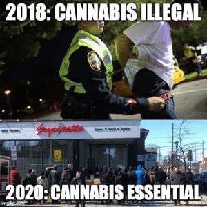 Quite turn of events in canada: Quite turn of events in canada