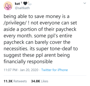 "quiteliterallyhotsauce:  Current economy doesn't allow saving anymore. And to say ""well find another job then"" is ridiculous  : quiteliterallyhotsauce:  Current economy doesn't allow saving anymore. And to say ""well find another job then"" is ridiculous"