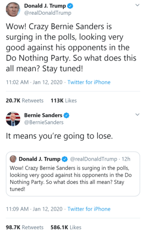 quiteliterallyhotsauce:  polyamoryprincess:  quiteliterallyhotsauce:   Bernie Sanders, 46th President of The United States, (2021-2029)    1) Bernie has incredibly high favorability ratings 2) Bernie polls very well with independents 3) Bernie beats Trump in virtually every national poll 4) Bernie beats Trump in all the key swing states 5) Bernie's policies are supported by a majority of ALL Americans    REMEMBER TO VOTE IN BOTH THE PRIMARIES AND THE GENERAL ELECTION!!  ^^^^^ : quiteliterallyhotsauce:  polyamoryprincess:  quiteliterallyhotsauce:   Bernie Sanders, 46th President of The United States, (2021-2029)    1) Bernie has incredibly high favorability ratings 2) Bernie polls very well with independents 3) Bernie beats Trump in virtually every national poll 4) Bernie beats Trump in all the key swing states 5) Bernie's policies are supported by a majority of ALL Americans    REMEMBER TO VOTE IN BOTH THE PRIMARIES AND THE GENERAL ELECTION!!  ^^^^^
