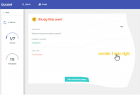 """Best, Http, and Quizlet: Quizlet  Q Search  Create  Back  Study this one!  :LEARN  QUESTION  What is the best economic system?  CORRECT ANSWER  ROUND  Captialism  YOU SAID  Override: I was right  Communism  PROGRESS  Press any key to continue <p>New format, has potential? via /r/MemeEconomy <a href=""""http://ift.tt/2wJ6hFn"""">http://ift.tt/2wJ6hFn</a></p>"""