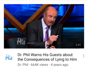 nest: clairidryl: Dr Kill that's a tiny pistol he is holding : r.  #DRPHIL  2:41  Dr. Phil Warns His Guests about  the Consequences of Lying to Him  Dr. Phil 664K views 4 years ago  r.  Phil nest: clairidryl: Dr Kill that's a tiny pistol he is holding