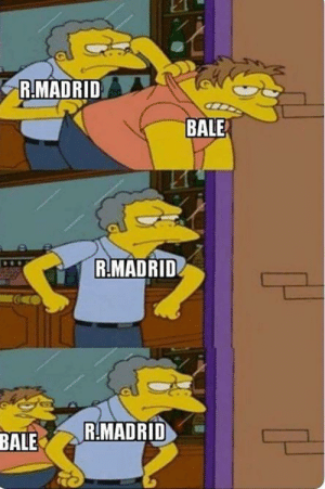 They just can't get rid of Bale https://t.co/K26Gjw6OiJ: R.MADRID  BALE  R.MADRID  R.MADRID  BALE They just can't get rid of Bale https://t.co/K26Gjw6OiJ