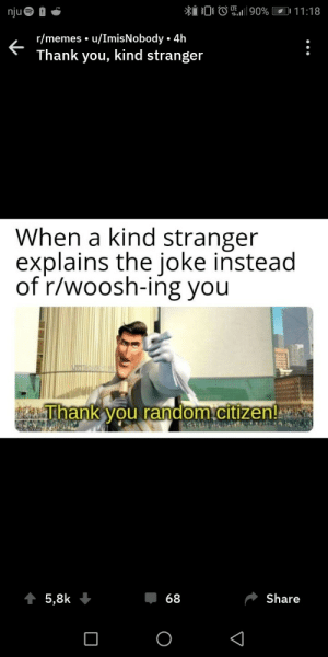 Rmemes uImisNobody 4h Thank You Kind Stranger When a Kind ...