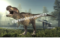 Dinosaurs, History, and  Decided: r/prehistoricmemes  r/animemes
