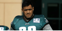 Philadelphia Eagles, Football, and Journey: R.  Rothman Institute  at Jefferson  EAGLES In January he had never put on a football helmet. In April he was drafted by the @Eagles. Today he made the team's 53-man roster.  A look at @jordan_mailata's incredible journey to the NFL: https://t.co/mA9KD23yZT https://t.co/GLgGJ4e6Xk