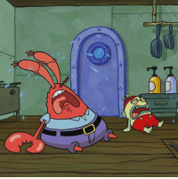 Memes, Tfw, and 🤖: (r TFW you go to order a KrabbyPatty and they're all out 😭