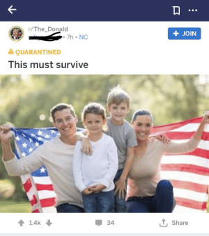 White People, White, and Amazing: r/The_Donald  JOIN  7h NC  A QUARANTINED  This must survive  1 Share  1.4k  34 It's amazing how white people are at once the master race but also totally vulnerable and endangered,