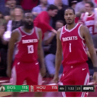 Fire, Memes, and Worldstar: R0  ETS  115  HOU 115 4th 1:32 23  23  TO: 2  BON  TO: 2 TrevorAriza was on fire tonight 😤🔥🏀 @houseofhighlights @worldstar WSHH