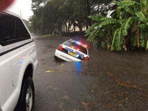 Police, Tumblr, and Blog: r1  www.tampagov maraudingcaptain:  graf-spectre:  moonuncle:  doritofu: here we can see that Florida is actually a poorly written artificial data matrix, as evidenced by this poorly rendered police vehicle clipping through the environment due to similation processor loads being too high during the rainy season. Bethesda programmed Florida     @vrangr-uluthrek