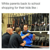 LOOOOOOOOLLLL: White parents back to school  shopping for their kids like LOOOOOOOOLLLL