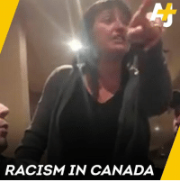 This woman screamed at four Afghan-Canadians to go back to their country.: RACISM IN CANADA This woman screamed at four Afghan-Canadians to go back to their country.