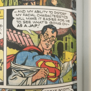 Racist Superman: Racist Superman