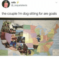 Goals, Ocean, and United: rafa  @_raquelalexis  the couple i'm dog sitting for are goals  ATLANTIC  OCEAN  UNITED STATE Follow @_________sext____________ .