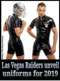 Raiders: RAIDERS  Las Vegas Raiders unveil  uniforms for 2019