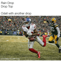 Disappointed, Memes, and 🤖: Rain Drop  Drop Top  Odell with another drop Trying my first Rain Drop, Drop Top meme. Seems like this didn't disappoint.