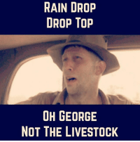 Drop Tops: RAIN DROP  DROP TOP  OH GEORGE  NOT THE LIVESTOCK