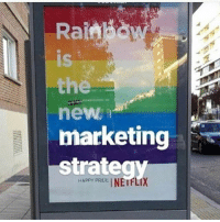 it's a meme stop being salty lmao 😪: Rainbow  Rainhd  is  IS  the  new  marketing  Strateqy  NE1 FLIX  HAPPY PRIDE  HAppy PR it's a meme stop being salty lmao 😪