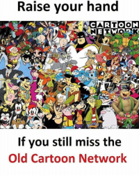Cartoon Network, Memes, and Cartoon: Raise your hand  If you still miss the  Old Cartoon Network 🙋‍♂️🙋‍♂️
