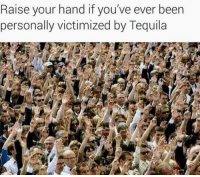 <p>We can no longer be silent but please don&rsquo;t be loud&hellip; Hangover.🥃😩🤢😧</p>: Raise your hand if you've ever been  personally victimized by Tequila <p>We can no longer be silent but please don&rsquo;t be loud&hellip; Hangover.🥃😩🤢😧</p>