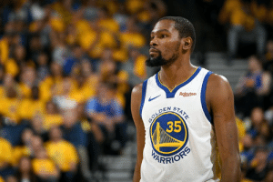 "Kevin Durant will miss Game 1 of the WCF and it's ""unlikely"" he plays Game 2, per Ramona Shelburne: Rakuten  35 Kevin Durant will miss Game 1 of the WCF and it's ""unlikely"" he plays Game 2, per Ramona Shelburne"