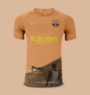 Barcelona's UCL kit for next season looks lit https://t.co/5pSg5cZJTW: Rakuten  Ah shit, here we go again. Barcelona's UCL kit for next season looks lit https://t.co/5pSg5cZJTW